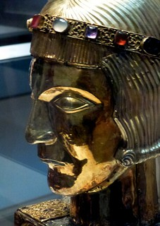 Reliquary Head of St Eustace