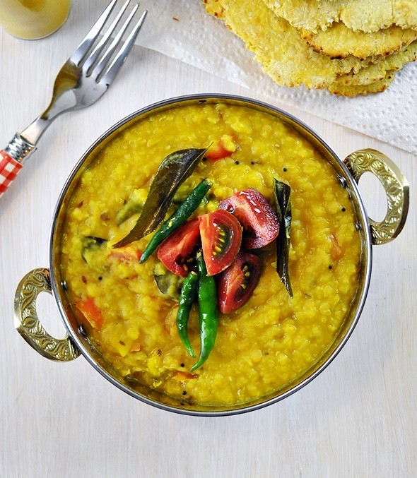 Red Lentil (Dhal) Curry, Vegan Friendly, Gluten Free | www.fussfreecooking.com