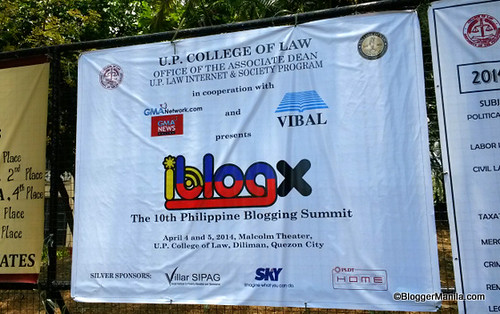 iBlog X Blogging Summite at the College of Law in UP Diliman