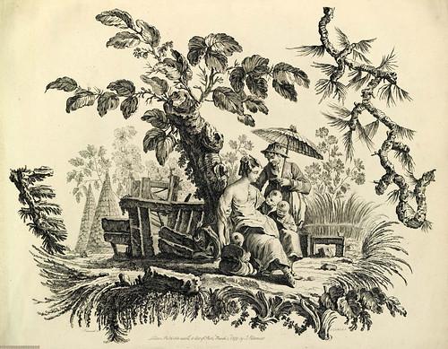 016- Series Chinas-Oeuvre gravé de Jean Pillement..1767-Vol 4- INHA