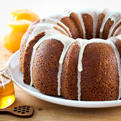 Honey Orange Pound Cake