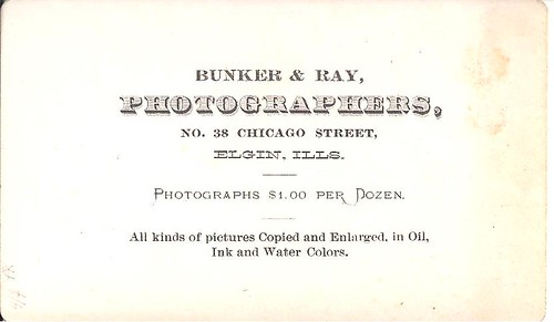 Another Elgin CDV - And A Different Photographer.