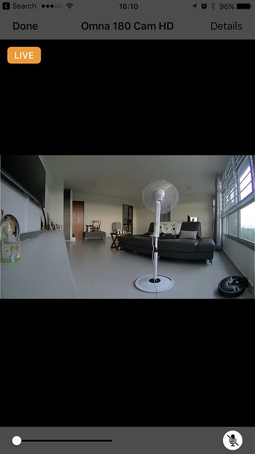 Home iOS App - Live View