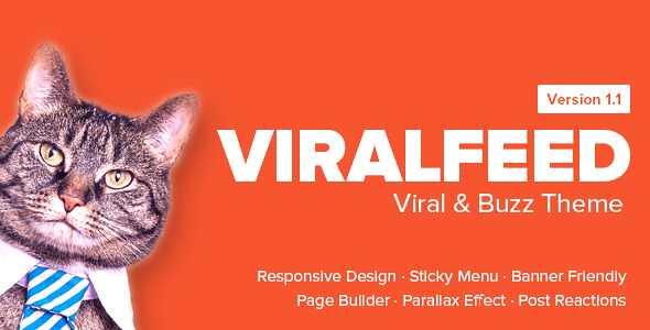 ViralFeed WordPress Theme free download