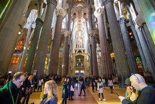 Зображення Basilica de la Sagrada Família поблизу Gràcia. barcellona2017 barcelona2017 barcellona barcelona sagradafamilia catalunya spain es