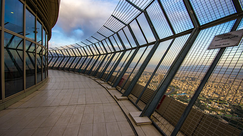 burjemilad milad tower tehran open observation deck