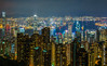 City of Hong Kong from Victoria Peak by lpvisuals.com