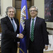 Secretary General Meets with National Summits Coordinator of Peru and Delegation