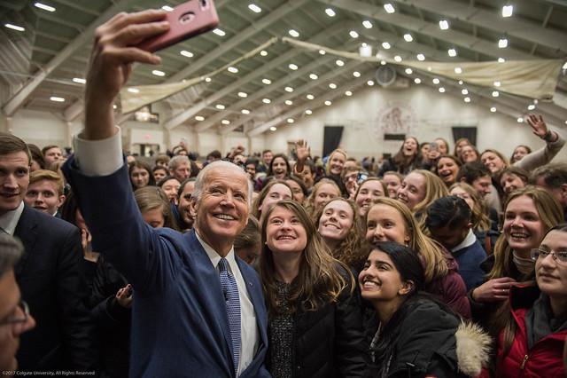 Joe Biden at Colgate