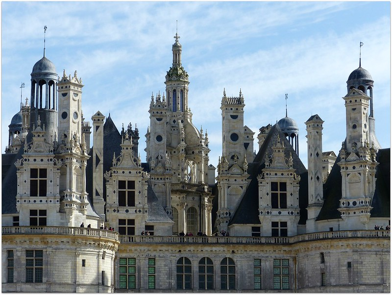 Lace of stones Chambord - France