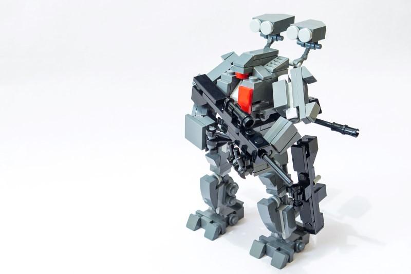 Trauma (custom built Lego model)