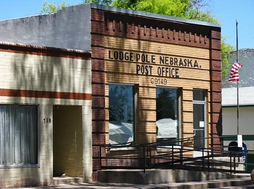 lodgepole nebraska midwest roadtrip unitedstatespostoffice postoffice usps building architecture brick