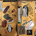 "Pee-Chee Folder Art: Kathy's ""Quad"" (2 of 4)"