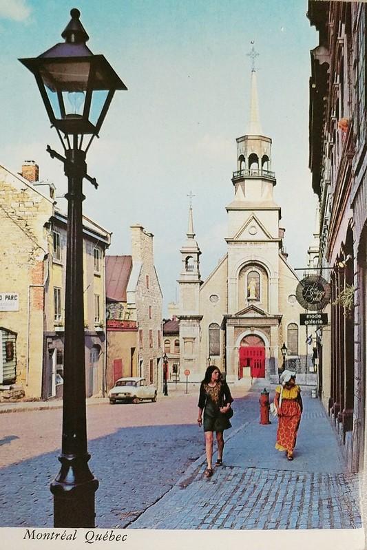 Canada - Montreal - L'Eglise Notre-Dame du Bonsecours