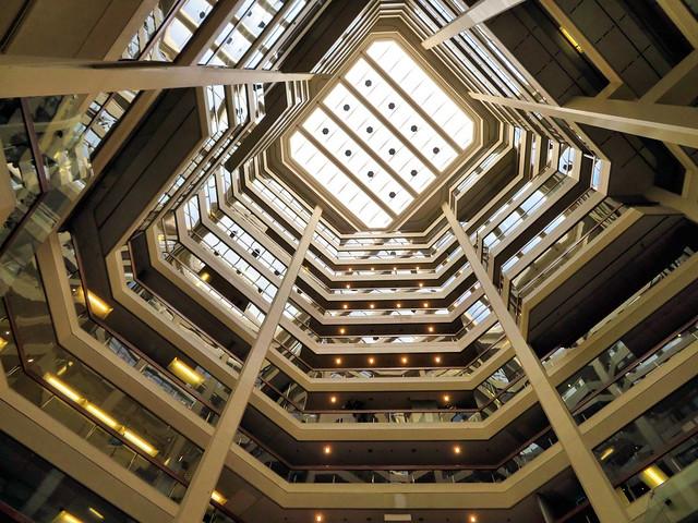 Skylight, Atrium on Bay, Toronto, Ontario
