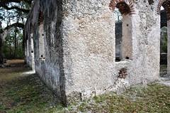 South Carolina, Beaufort County- St. Helena Island, St. Helena Parish Chapel Of Ease Ruins