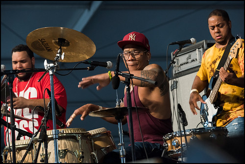 The Pedrito Martinez GroupJazz Fest day 2 on April 29, 2017. Photo by Ryan Hodgson-Rigsbee www.rhrphoto.com