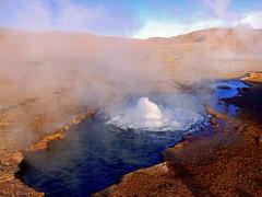 Tatio Geysir | Geyser | Chile | San Pedro de Atacama-Tour | South America | Südamerika