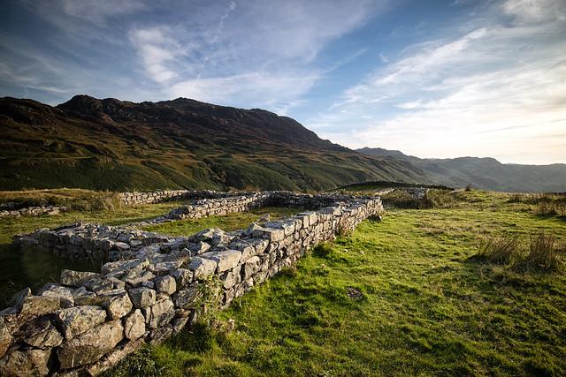 Old Roman wall.