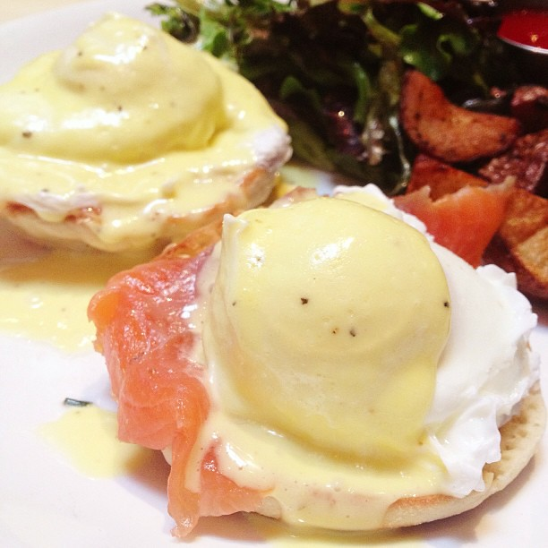 Nova Eggs with Smoked Salmon & Hollandaise for Brunch | Flickr - Photo ...