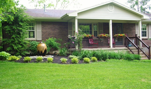 Landscaping Front Yard Landscaping Ideas For Ranch Homes
