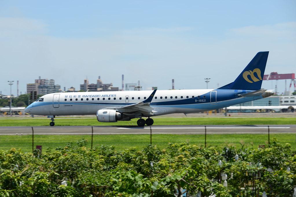 B-16821 Mandarin Airlines ERJ-190