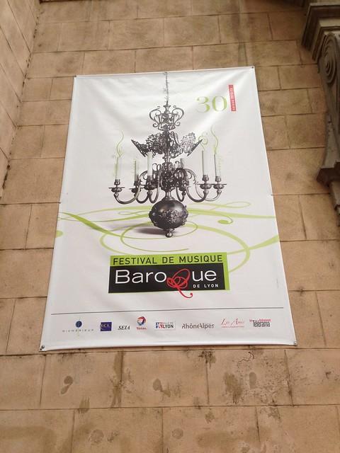 Baroque Festival Poster