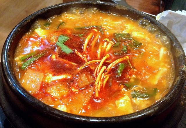 Tofu Chigae