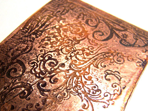 Using Embossed Paper for Rolling Mill Printing