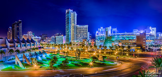 Gaslamp District, San Diego, California