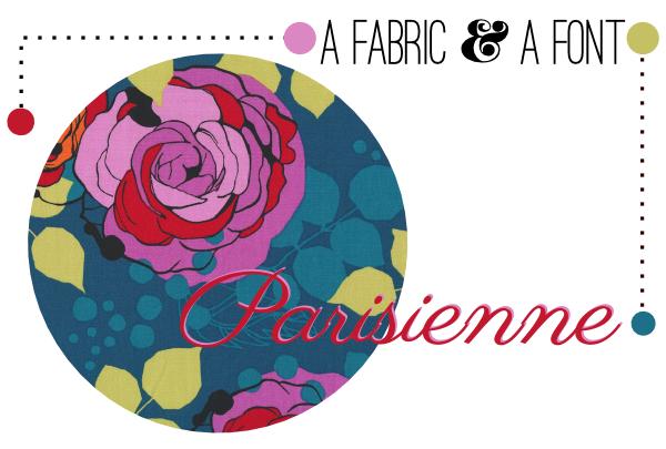 Parisienne + Rebecca Bischoff Blythe Park Floral Teal