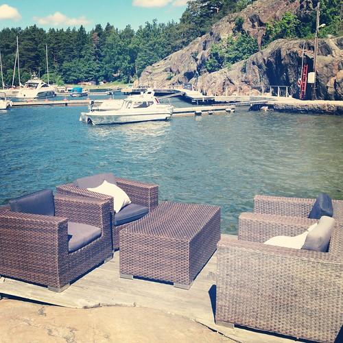 View from Framfikan restaurant, Grinda, Sweden