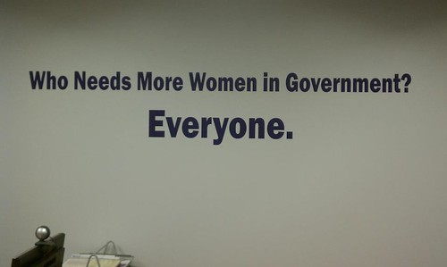 Who needs more women in government?