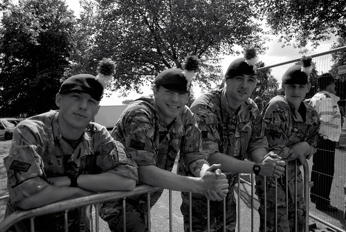 Armed Forces Day Nottingham 2013