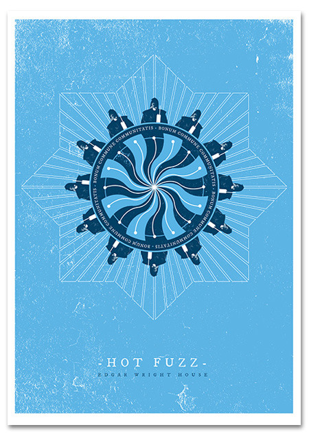 Hot Fuzz / Poster Art / Gavin Beattie