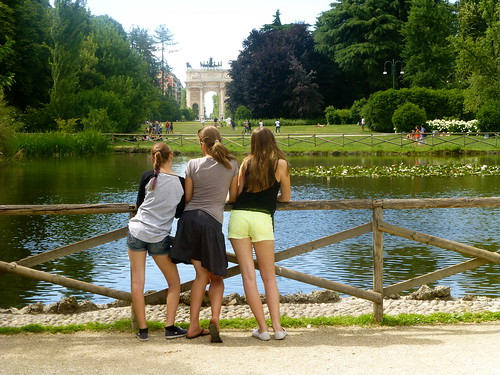 At the Parco Castello