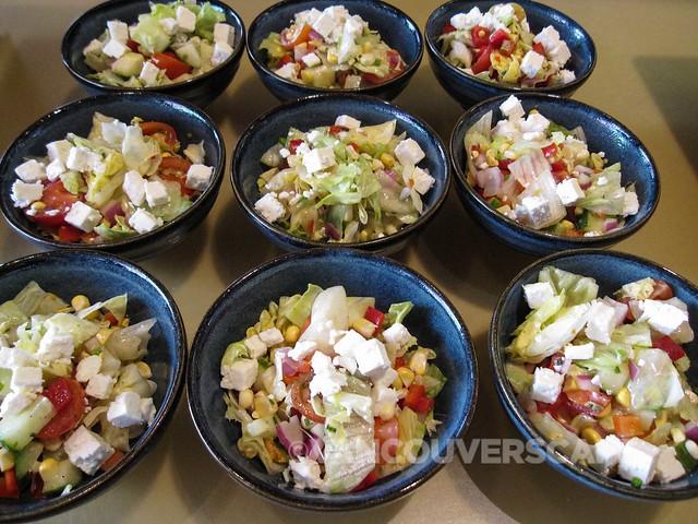 Grain Tasting Bar Chopped Farms Salad