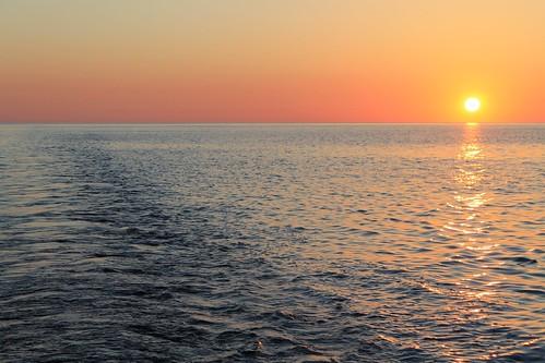 Sunset in mediterranean by Nouhailler