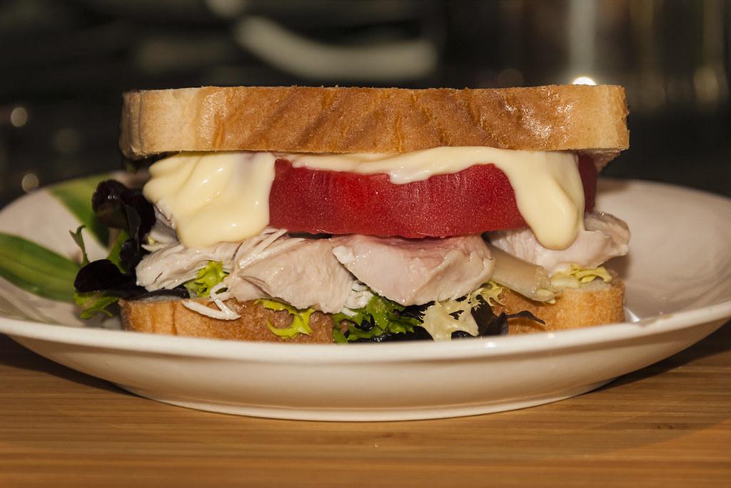 Sandwich pechuga en escabeche Matachín 2