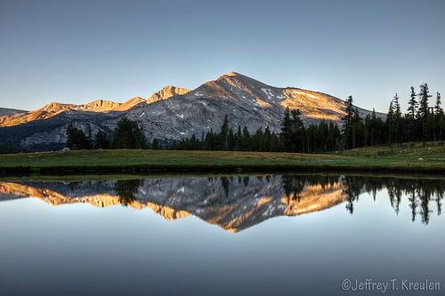 Mammoth Peak Sunrise Reflection