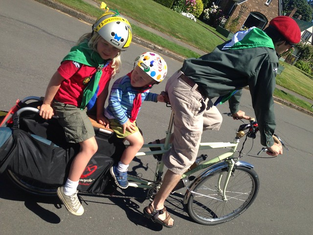 Scouts on Sunday Parkways