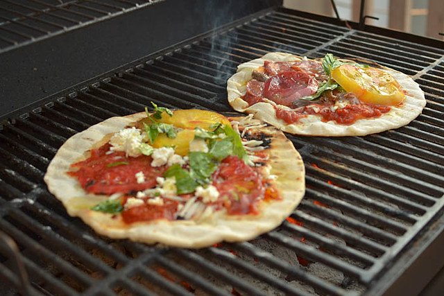 It's Time to Grill Your Pizza via LittleFerraroKitchen.com