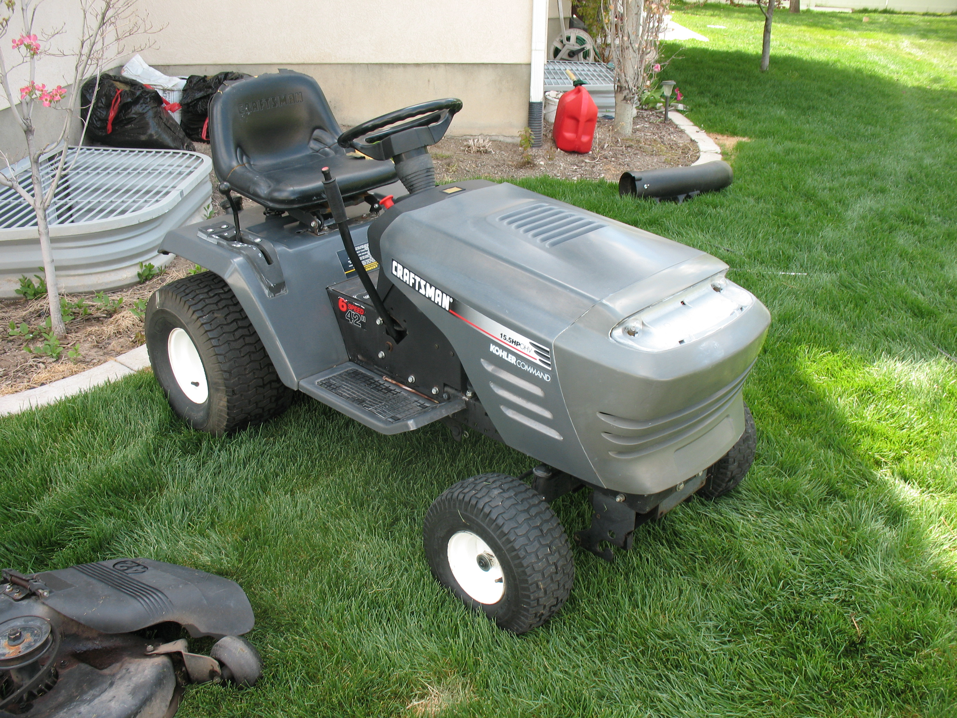 Sears Craftsman Bagger Parts : Craftsman sears pictures page mytractorforum