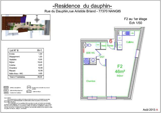 Résidence du Dauphin - Plan de vente - Lot n°6
