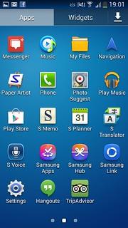 Galaxy S4 Zoom - Screenshot