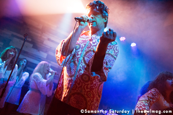 The Polyphonic Spree @ The Constellation Room, Santa Ana, Ca 8/20/13