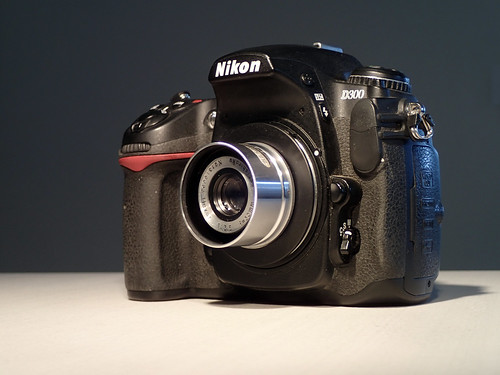 Konishiroku Hexar on Nikon D300
