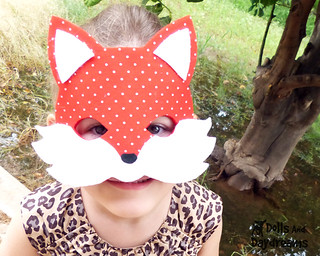 Fox Mask Sewing Pattern Tail Easy DIY Set 1 copy | Flickr
