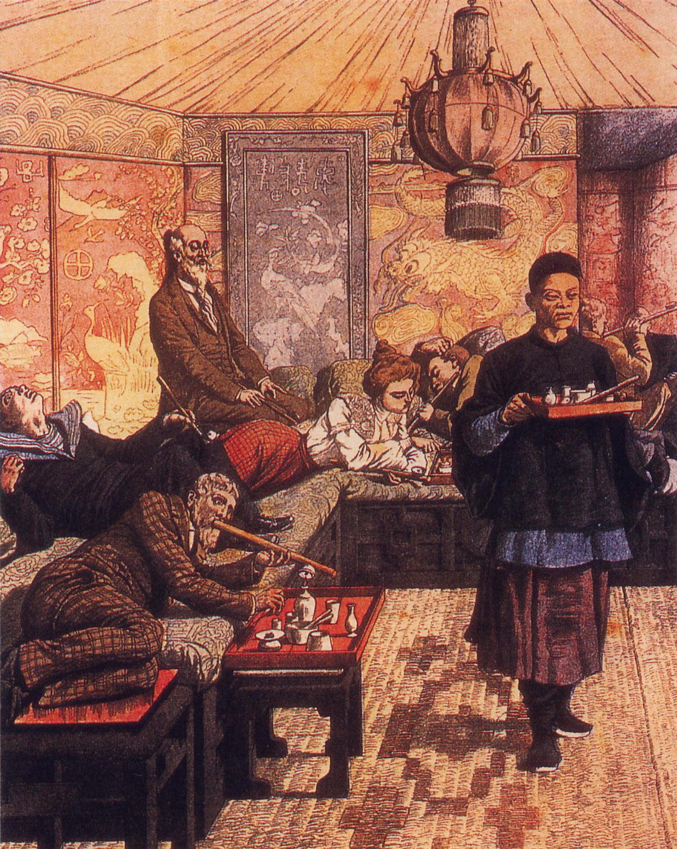 opium den France