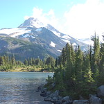 Mount Jefferson from Russell Lake